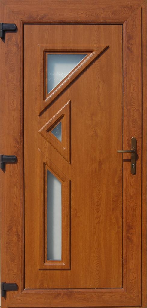 Műanyag bejárati ajtó 5 pontos zárral, Kód:17