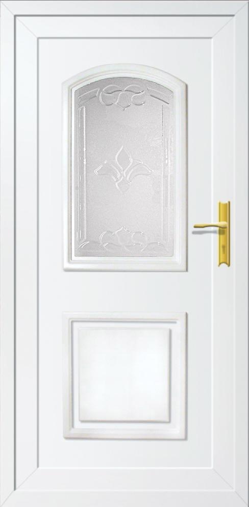 Műanyag bejárati ajtó 5 pontos zárral, Kód:20