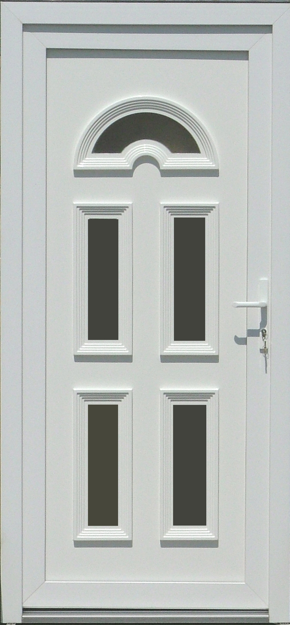 Műanyag bejárati ajtó, Kód:4