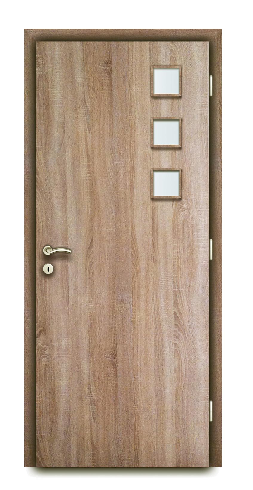 Dekorfóliás és/vagy CPL beltéri ajtó, KÓD: BV22